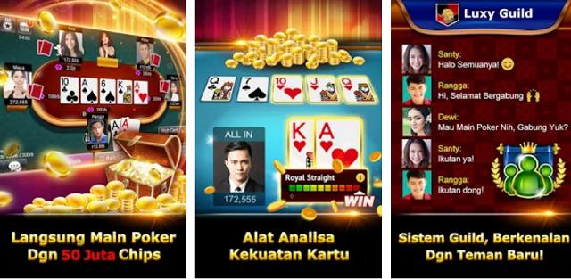 Cara Memainkan Luxy Poker-Online Texas Holdem